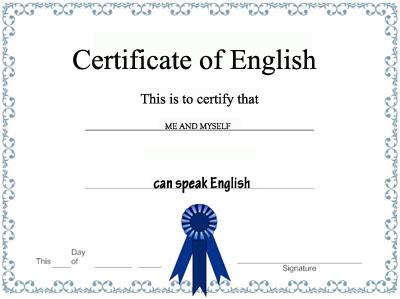 Exàmens i títols idiomes anglès