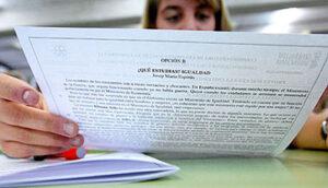 Clases de refuerzo y preparación examen selectividad