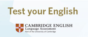 Test nivel de inglés Cambridge English