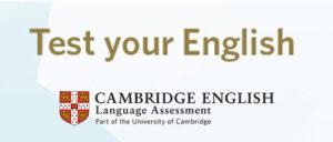 Test nivel de inglés Cambridge English
