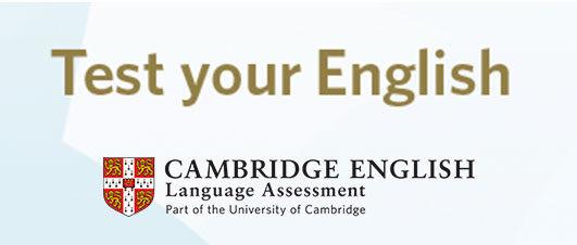 Test de nivell d'anglès Cambridge English