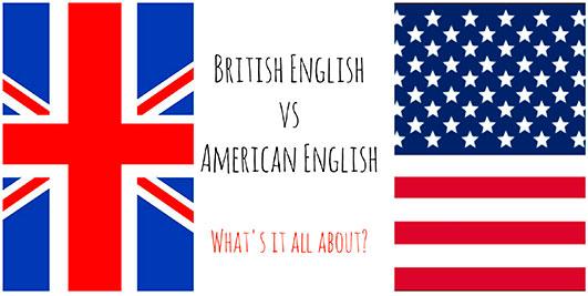 Diferencias entre inglés americano e inglés británico