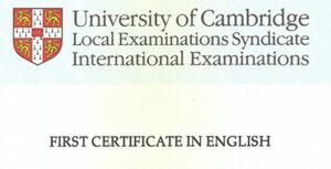 Escola d'idiomes a Mataró per al First Certificate d'anglès