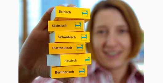 Diferents dialectes de l'alemany