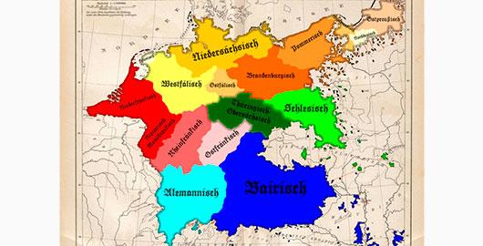 Acentos y dialectos del alemán