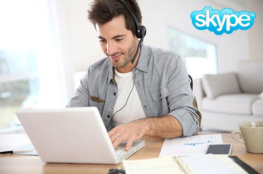 Clases de inglés y francés vía Skype Barcelona